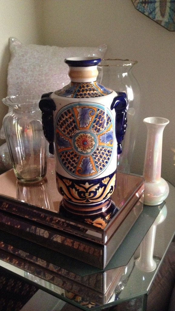 Letgo Ceramic Floral Vase Work O In New Port Richey Fl