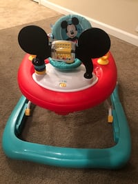 Mickey Mouse baby walker with wheels