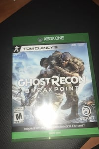 Xbox one Ghost Recon Breakpoint Edmonton, T5W 0S6