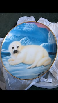 """On His Own"" Franklin Mint Heirloom Plate Holmes, 19043"