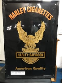 Harley Davidson cigarette very collectible.