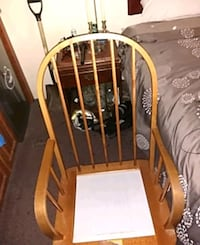 full size, solid base, gliding rocking chair.