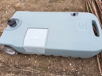 """Portable sewer container-""""blue boy"""" null, S0J"""