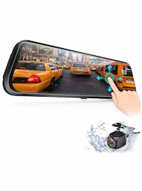 Brand new 10'' Mirror Dash Cam IPS Touch Screen 1080P Rearview Front and Rear Dual Lens with Night Vision Waterproof Reverse Camera Las Vegas, 89178