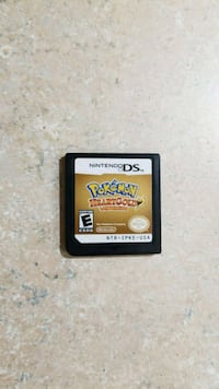 Pokemon Heartgold nintendo ds cart only  Maple, L6A