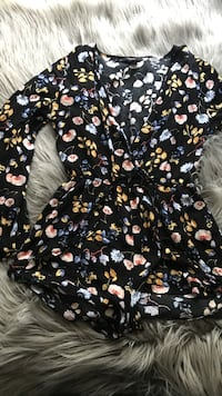 multicolored floral long-sleeve blouse Ceres, 95307