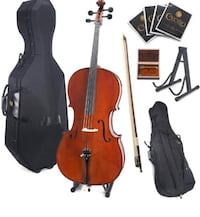 Cecilio CCO-500 Ebony Fitted Flamed Solid Wood Toronto, M1J 2L1