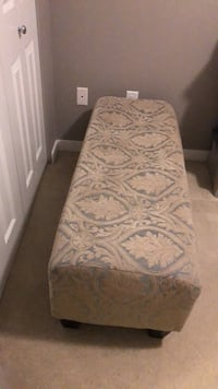 Bedroom or living room bench size is Height 18 inches  Width is 17 inches  Length is 48 inches Surrey, V4N