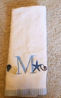 """""""M"""" hand towel Bowie, 20720"""