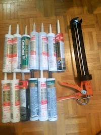Retail $160 Silicone caulking package New Mississauga, L4W 1M4