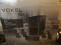 vokel media labs 5.1 hd home theater system Sacramento, 95835