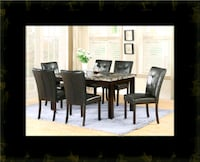 5pc dining table set with 4 chairs Herndon, 20171