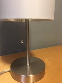 black and gray table lamp New Westminster