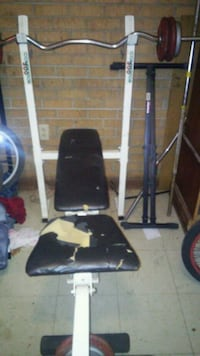 black and gray exercise equipment Cabot, 72023
