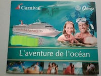 Cruise for 2 all included for 2 weeks Montréal, H4N