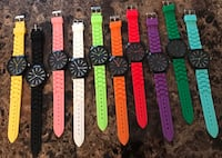 Assorted-color watches Montreal