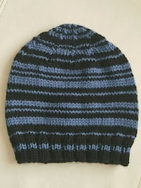 black and white knit cap Calgary, T3L 2B1