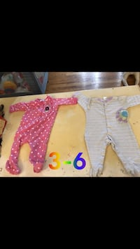 baby's three assorted footie pajamas Winchester, 22601