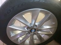 4 BMW 245/50 Tire with rim Used in good condition. Hyattsville