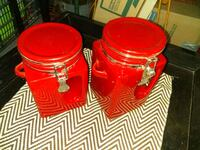 Red Set of Canisters Oklahoma City, 73108