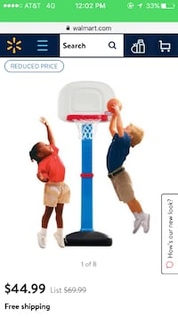 Little tikes basketball hoop BALL NOT INCLUDED Conway