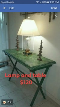 Table and lamp  Houston, 77072