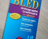 BLED orthographe/grammaire Vienne, 38200