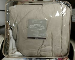 Home Trends Microsuede Complete Bedding Set