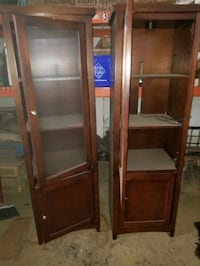 Two cabinets
