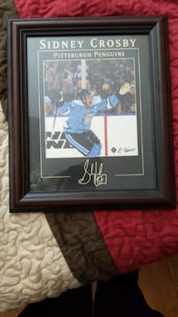 Framed Sidney Crosby Winter Classic Picture Mississauga
