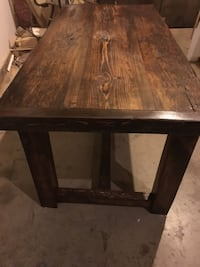 2 1/4 thick rustic table  Kitchener, N2G