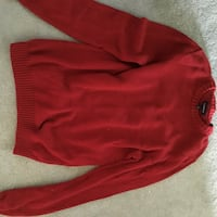 Red sweater Gwynn Oak, 21207
