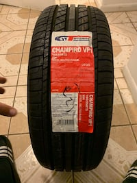 black and red car tires