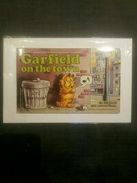 RARE Garfield On The Town 1st Edition 1983 Book West Hollywood