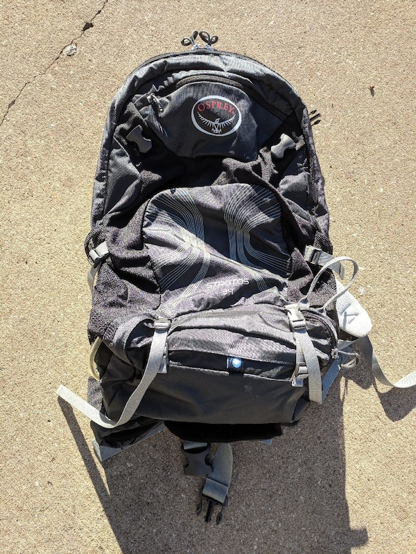 9148bb00c2 Used Osprey Stratos 34 backpack for sale in Rogers - letgo