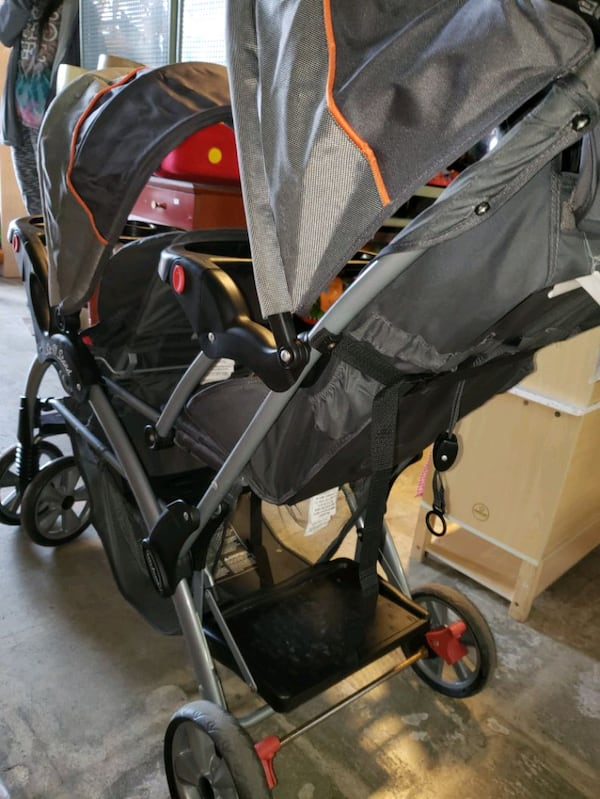 double and sit and stand stroller @ clic klak used d9f0168c-4806-46c1-a6ce-6582f433b039