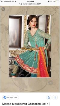women's green and red traditional dress Mumbai, 400095