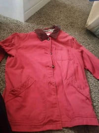 red button-up long-sleeved shirt Wilson, 27893