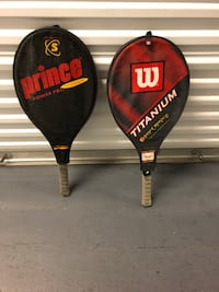 two black and red Wilson tennis rackets Surfside Beach, 29575