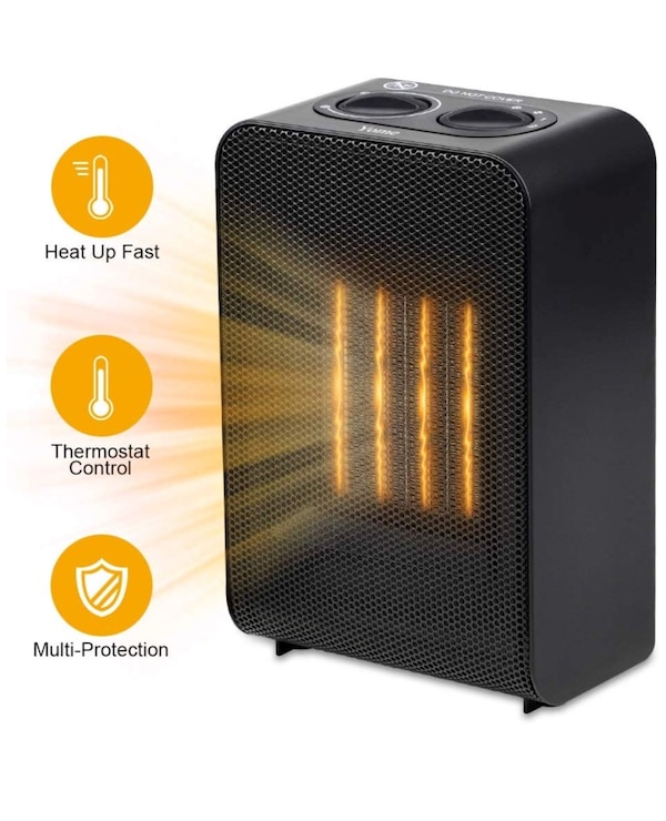 Yome Space Heater Electric Space Heater With Adjustable