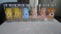 6 Collectable Care Bear drinking glasses Henderson, 89009