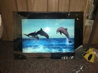 Dolphin light up sign
