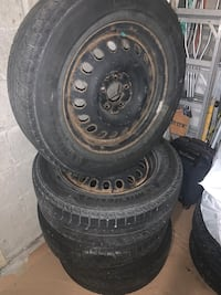 Winter tires on rims 225/65R17 Toronto, M1E 4V4