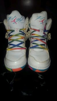 Rainbow jordan flight 45 high