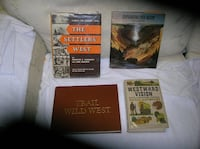 Nine (9) Books on the Old West Springfield