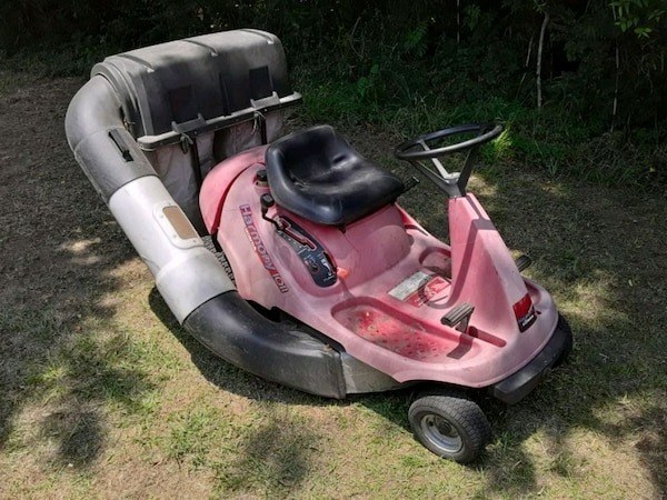Honda Harmony Rear Engine Riding Mower With Bagger
