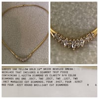 Gold-colored chain necklace New Port Richey, 34655