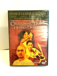 NEW, SEALED Crouching Tiger Hidden Dragon DVD Kitchener, N2E