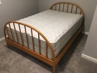 Double bed frame with mattress San Jose, 95032