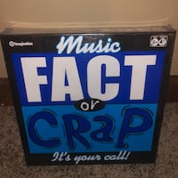 Music Fact or Crap Game  Hollis, 03049